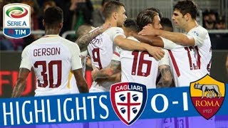 Cagliari - Roma 0-1 - Highlights - Matchday 36 - Serie A TIM 2017/18
