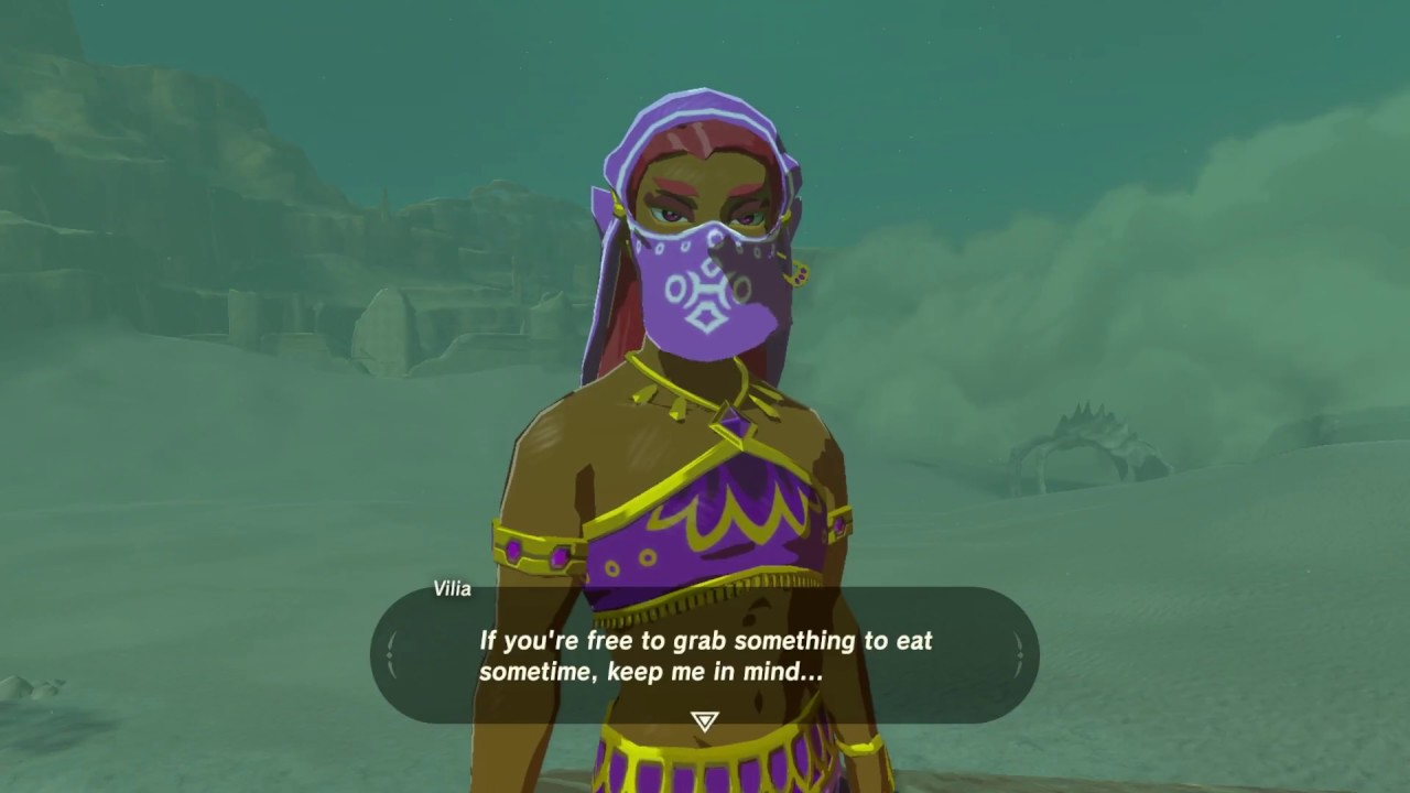 zelda botw how to cook