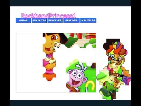 Dora Puzzle Games - YouTube