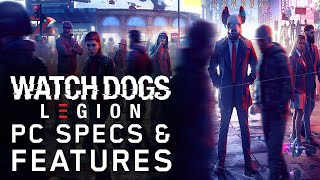 Watch Dogs: Legion PC Specs & Features - NGON