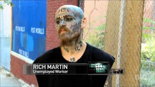 High Unemployment Linked To Increasing Number Of Face Tattoos
