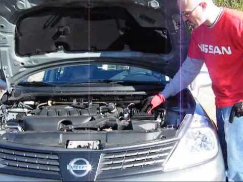 How to change your nissan versa engine air filter youtube for Motor oil for 2005 nissan altima