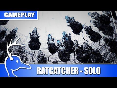 The Ratcatcher, Solo Adventure Game - (Quackalope Games)