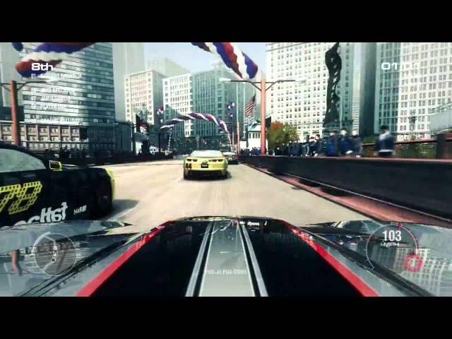 Grid 2 Gameplay Trailer Chicago Street Racing