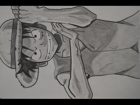 Dibujando a luffy one piece youtube for Dibujos one piece