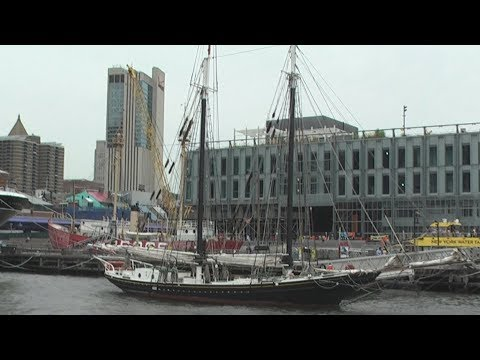 Pioneer - 19th Century Schooner At The South Street Seaport In New York