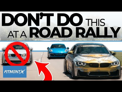 What NOT To Do During a Road Rally