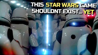 The Upcoming Star Wars Game 'EA Don't Want You To Know About... Yet