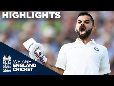 Virat Kohli Scores 1st Test Century In England | England v I