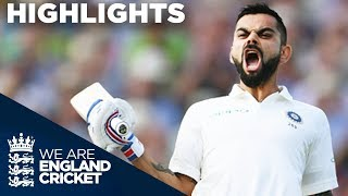 Virat Kohli Scores 1st Test Century In England | England v India 1st Test Day 2 2018 - Highlights thumbnail