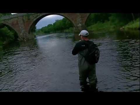 Fishing The North Esk - Pert Fishing - July 2012