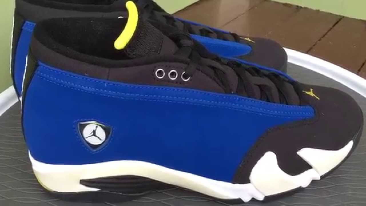 b8be00e4447a ... usa air jordan 14 xiv retro low laney review youtube 14b8f 08877