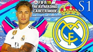 NEYMAR, DE BRUYNE SIGN! FIFA 19: REAL MADRID CAREER MODE S1 #1