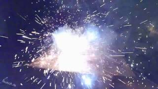 Batman vs. Ironman vs. Superman (Lego vs. Fireworks)