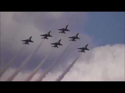 "MOODY AIR FORCE BASE AIRSHOW""THE U.S.AIR FORCE THUNDERBIRDS"" VALDOSTA,GA. 10-28-2017"
