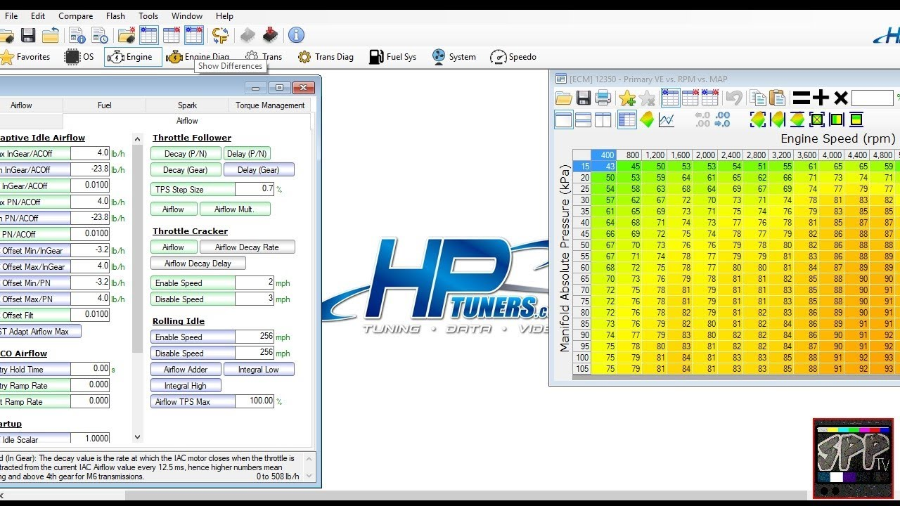 HP TUNERS Beginner Tip (compare) + Nova Custom RFG Tech Fabrication Of The  Day | HPT How to