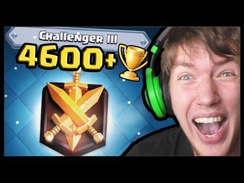 4600+ MOJA CESTA DO CHALLENGER 3! | Clash Royale #92