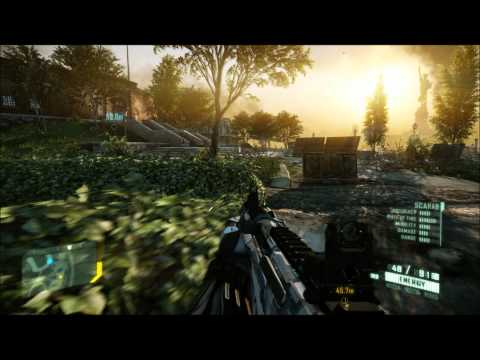 Crysis 2 PC gameplay EVGA GTX 470 maxed out AMD Phenom II X4 965 C3