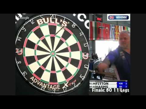 Bulls Darts Masters 2016 Finale: Darryl Fitton vs  Wesley Harms