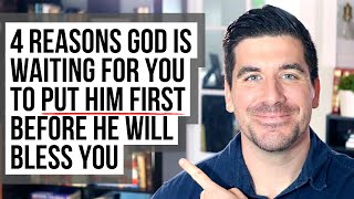 God Is Waiting t๐ Bless You Until You Put Him First Because . . .