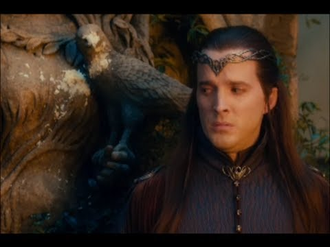 THE HOBBIT funny Rivendell extended scenes (with subtitles for elvish).
