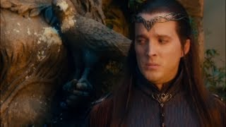 THE HOBBIT funny Rivendell extended scenes.