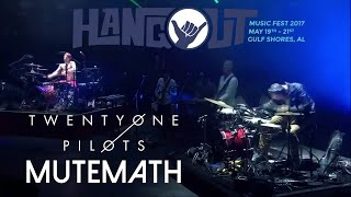 twenty one pilots & MuteMath: Hangout Festival 2017 (Live) - Tear In My Heart & Lane Boy