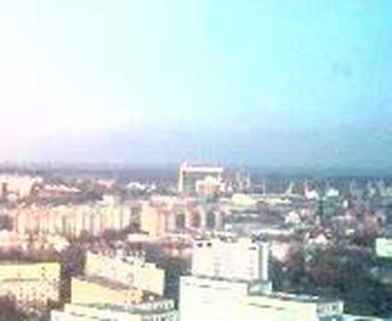 Panorama Miasta Szczecin Widok z 22 piętra czyli cafe 22