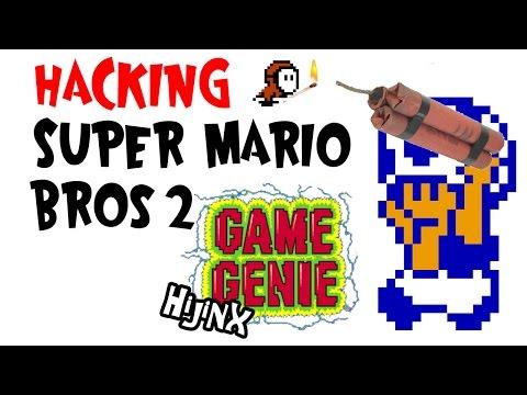 Hacking Super Mario Bros. 2 - Game Genie Hijinx