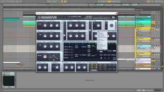 Future Bass Drop Lead with NI Massive Sound Design Tutorial Flume Holding On
