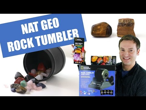 Rock Tumbler Review - National Geographic Hobby Rock Tumbler