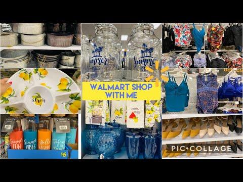 WALMART SHOP WITH ME // SUMMER FASHION 2020 / KIDS CLOTHING / KITCHEN & HOME DECOR / WALMART CANADA