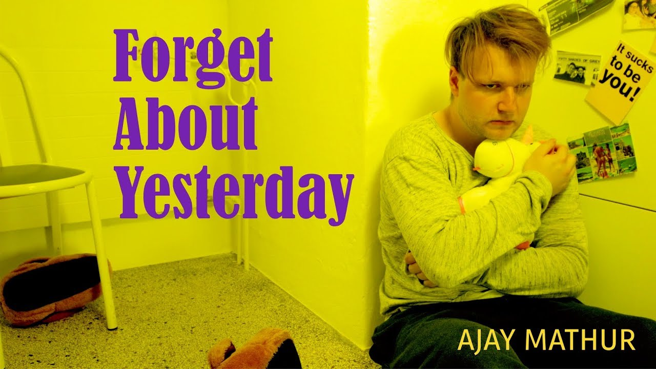 ajay-mathur-forget-about-yesterday