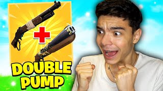 DOUBLE SHOTGUN CU *NOUL PUMP* DIN FORTNITE