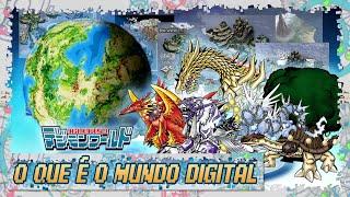 Os mundos dos Digimons!