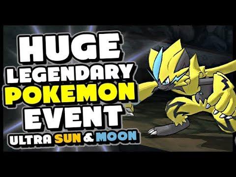 ZERAORA RELEASE DATE?? New Legendary Pokemon Event - Ultra Sun and Moon