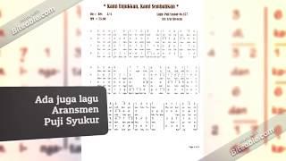 Partitur SATB paduan suara lagu gereja - Free Download