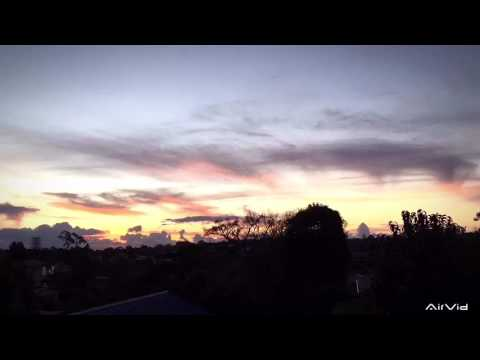 ISAACxNZ Working Holiday timelapse sunset in Auckland. DAY 051