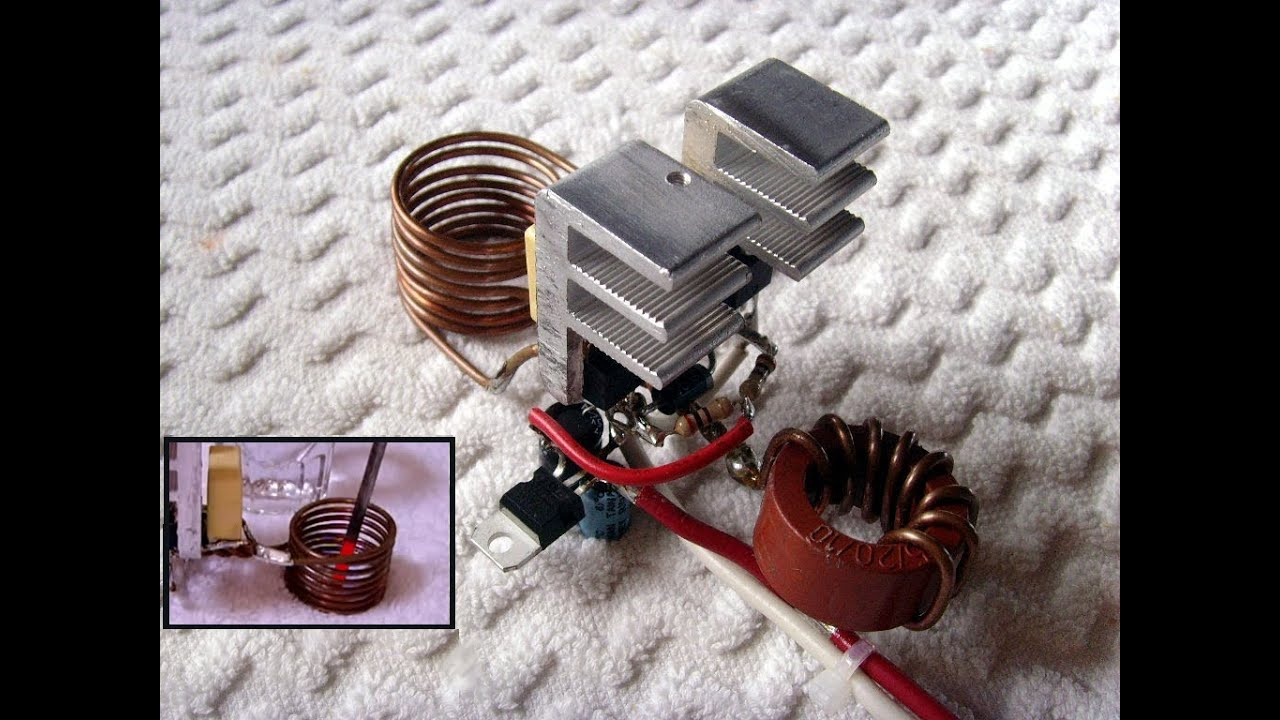 How To Make A Simple Induction Heater Full Explanation