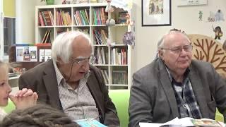 Встреча с Александром Тимофеевским и Михаилом Грозовским в РГДБ