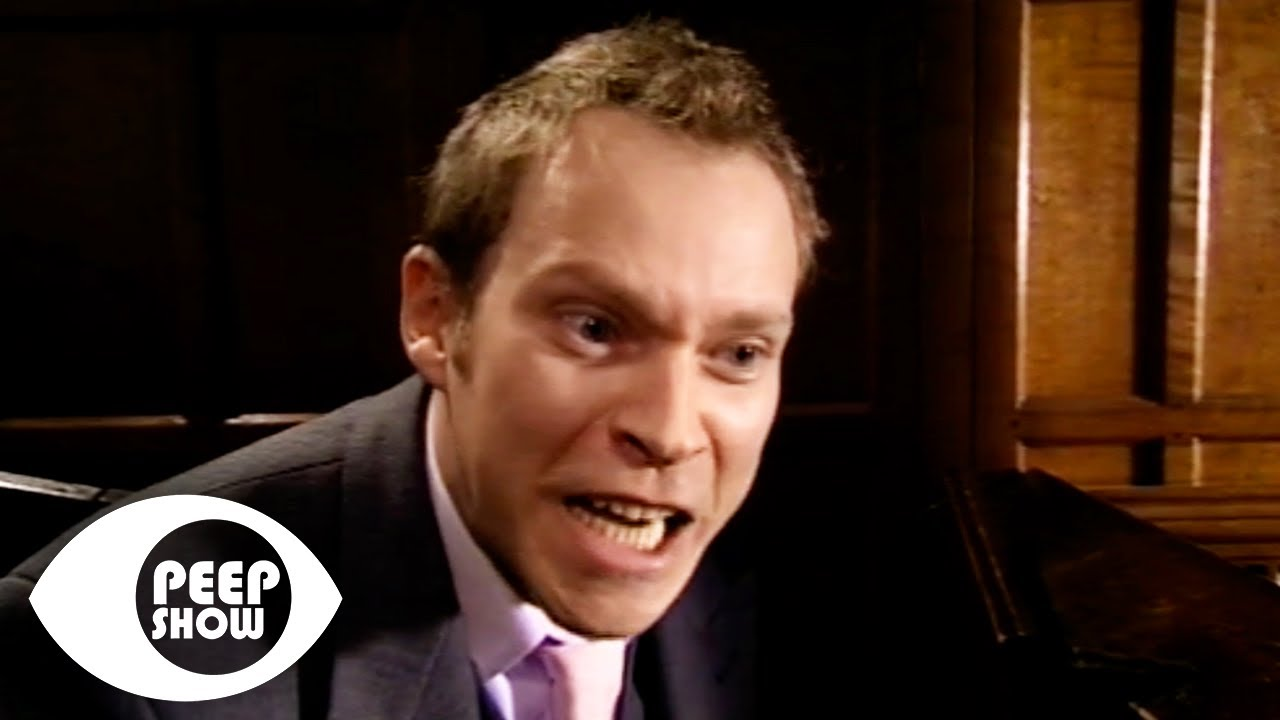 Jez Pisses Himself In The Church | Peep Show
