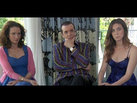 DP30: Mighty Fine, actors Chazz Palminteri, Andie MacDowell, Rainey Qualley