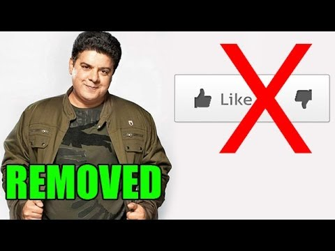Sajid Khan 'REMOVES' Like and Dislike Option for his official video