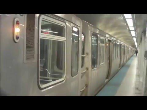CTA Blue Line train from O