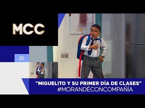 ¡Miguelito Y Su Primer Día De Clases! - Morandé Con Compañía 2020