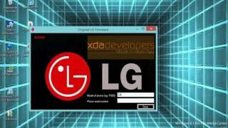Descargar Firmware Original LG  Todos los modelos