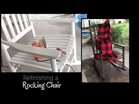 Refinishing a Rocking Chair