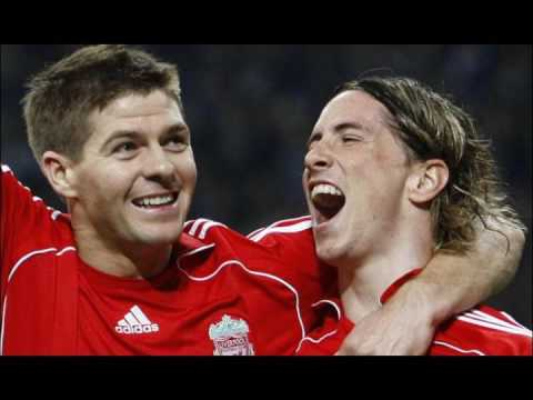 Liverpool Fc With The Song: Rule Britannia