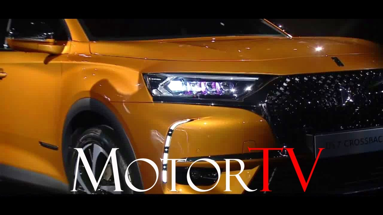 suv all new ds7 crossback l live reveal eng sub youtube. Black Bedroom Furniture Sets. Home Design Ideas