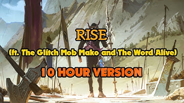 Download 2018 Rise Ft The Glitch Mob Mako And The Word Alive Worlds 2018 League Of Legends Mp3 Free And Mp4